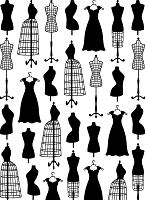Darice Embossing Folder (Size A2) - Small Dress Form
