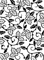 Darice Embossing Folder (Size A2) - Holly Vines