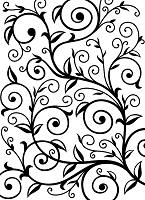 Darice Embossing Folder (Size A2) - Vine Pattern