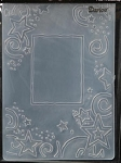 Darice Embossing Folder - Star Border (Size A2)