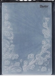 Darice - Embossing Folder - Floral Border (Size A2)
