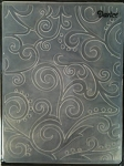 Darice Embossing Folder - Scrolls Background (Size A2)