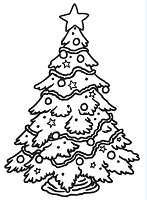 Darice Embossing Folder - (A2 size) -  Christmas Tree