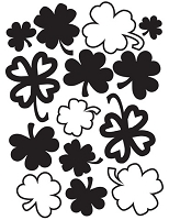 Darice Embossing Folder - (A2 size) -  St. Patrick's Day