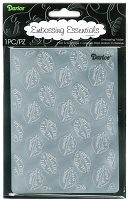 Darice Embossing Folder (Size A2) - Lips Kissing