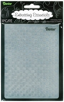 Darice Embossing Folder (Size A2) - Checkered