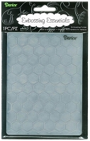 Darice Embossing Folder (Size A2) - Honeycomb