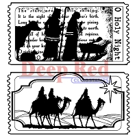 Deep Red - new stamps for Halloween and Christmas
