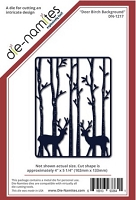 Die-Namites - Die - Deer Birch Background