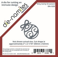 Die-Namites - Die - Bitty Swirly Ornament