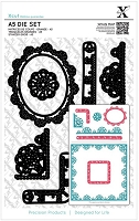 DoCrafts - Xcut Dies - Sew Lovely Trim Borders