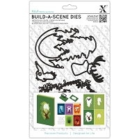DoCrafts - Xcut Die - Build-A-Scene Shadow Box Forest