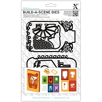 DoCrafts - Xcut Die - Build-A-Scene Shadow Box Fairground