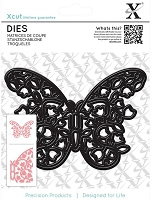 DoCrafts - Xcut Die - Floral Filigree Butterfly
