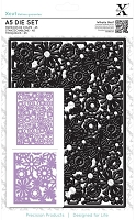 DoCrafts - Xcut Die - Floral Filigree Background