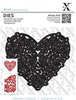 DoCrafts - Xcut Die - Floral Filigree Heart