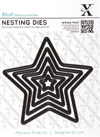 DoCrafts - Xcut Die - Large Nesting - Star