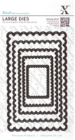 DoCrafts - Xcut Die - Large Nesting - Scalloped Rectangle