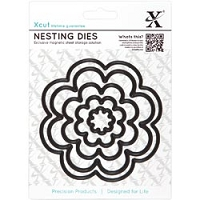 DoCrafts - Xcut Nesting Dies -  Bloom