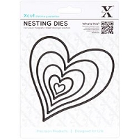 DoCrafts - Xcut Large Decorative Dies - Homespun Heart