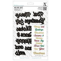 DoCrafts - Xcut Die - Christmas Sentiments