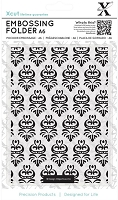 DoCrafts - Xcut A6 Embossing Folder - Damask Pattern