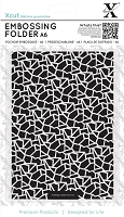 DoCrafts - Xcut A6 Embossing Folder - Cracked Tiles