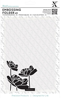 DoCrafts - Xcut A5 Embossing Folder - Large Blossom