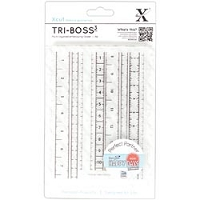 DoCrafts - Xcut A6 Embossing Folder - Measuring Tape