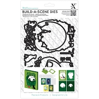 DoCrafts - Xcut Build-A-Scene Die - Shadow Box Countryside