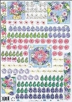 Dutch 3-D Decoupage Papers - Marianne Design  Card Paper - 8 1/4
