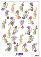 Dutch 3-D Decoupage Papers - Marianne Design - 8 1/4