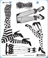 Dylusions - Cling Rubber Stamps - Daddy Long Legs