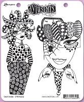 Dylusions - Cling Rubber Stamps - Endeavour