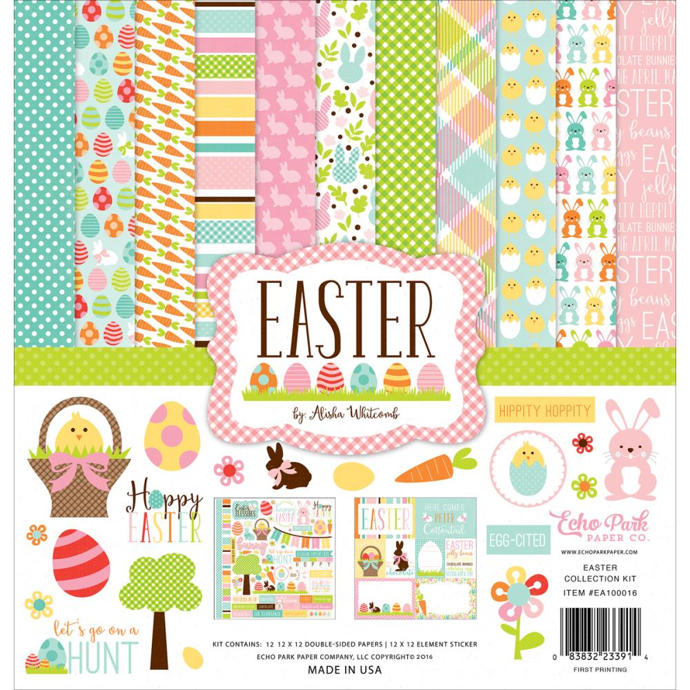 Scrapbook paper echo park - Easter Collection