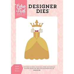 Echo Park - Designer Dies - Once Upon A Time Princess Royal Gown Die