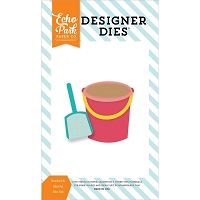 Echo Park - Designer Dies - Summer Party Bucket & Shovel