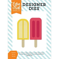 Echo Park - Designer Dies - Summer Party Popsicles #2