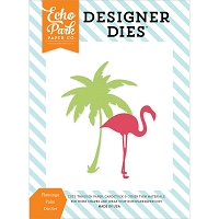 Echo Park - Designer Dies - Summer Party Flamingo Palm