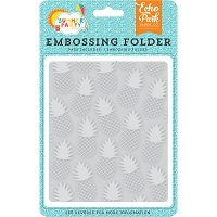 Echo Park - Designer Embossing Folders - Summer Party Pineapples