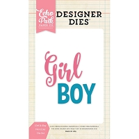 Echo Park - Designer Dies - Girl & Boy Word Sets