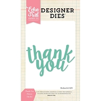 Echo Park - Designer Dies - Thank You Phrase