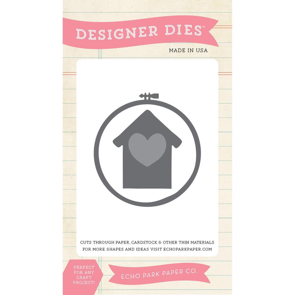 Echo park designer die at home embroidery hoop