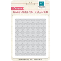 Echo Park - Designer Embossing Folders - Layered Scallops