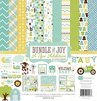 Echo Park - Bundle Of Joy A New Addition Collection - Baby Boy Collection Kit