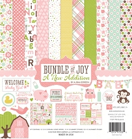 Echo Park - Bundle Of Joy A New Addition Collection - Baby Girl Collection Kit