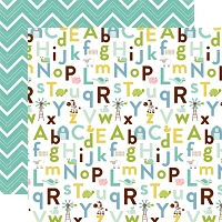 Echo Park - Bundle Of Joy A New Addition Collection - Baby Boy Alphabet