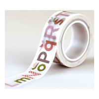 Echo Park - Bundle Of Joy A New Addition Collection - Washi Tape Alphabet