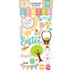 Echo Park - Celebrate Easter Collection - 6x12 Chipboard (foiled)
