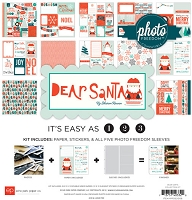 Echo Park - Photo Freedom Dear Santa - Collection Kit